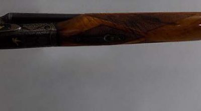Winchester Model 21 Shotgun, 1973. Serial number 26352. Owned by James Doolittle. Gift of General James H. Doolittle. 1979.2.1