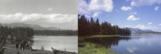 Points West blog 269: Bridger Lake Shoreline, then and now