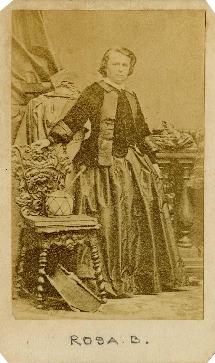 Rosa Bonheur, undated. MS327.01.03.001.01