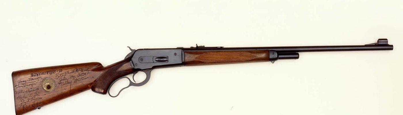 Herb Parson's Winchester 1871. 2003.15.16