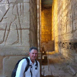 William Shepley in Egypt