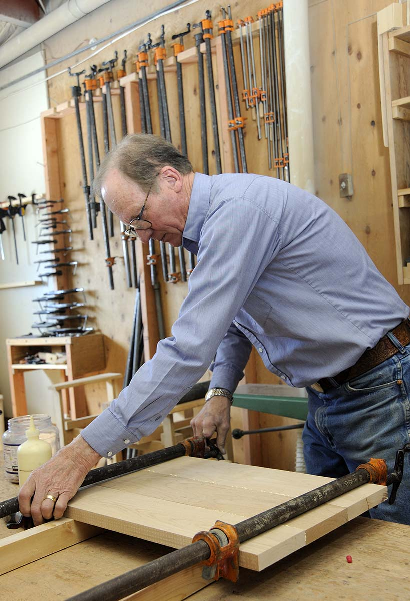 As he repaired furniture on the family ranch, Siggins learned much about the craft. But, eventually, he traveled to New York for a two-week stint at a furniture factory to learn the basics.