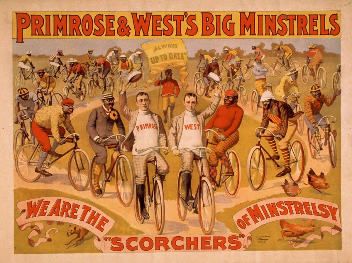 Primrose & West's Big Minstrels always up to date, ca. 1895. Library of Congress Prints and Photographs Division, Washington, DC 20540 USA. LC-USZ62-24637