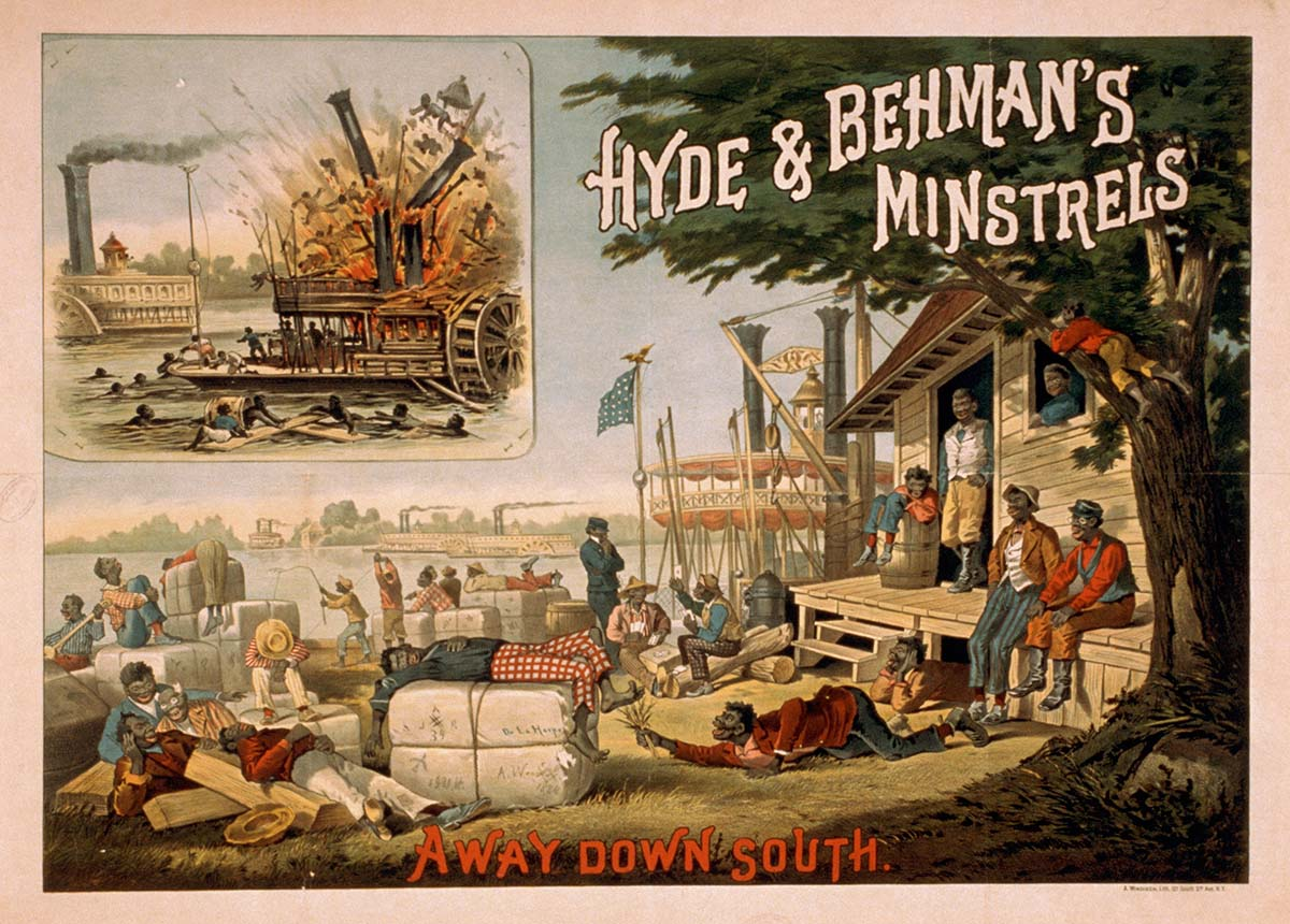 Hyde & Behman's Minstrels, 1884. Library of Congress Prints and Photographs Division, Washington, DC 20540 US.A LC-USZ62-26099