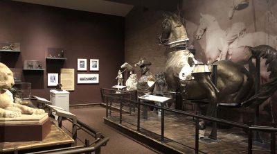 The Center's Proctor Studio exhibit in the Whitney Western Art Museum.