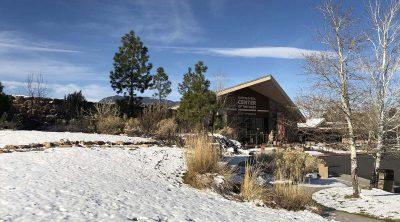 Buffalo Bill Center of the West in winter.