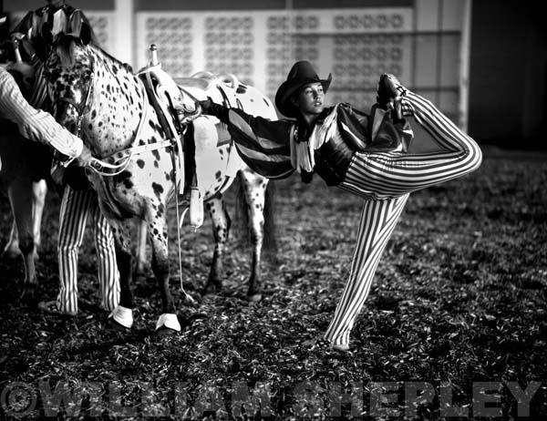 Riata Ranch Cowboy Girl Kansas Carradine, Louisville, Kentucky, 1998. William Shepley photo. P.602.018