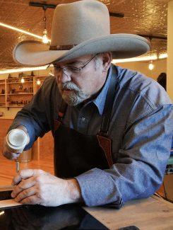 Master Saddler Keith Seidel