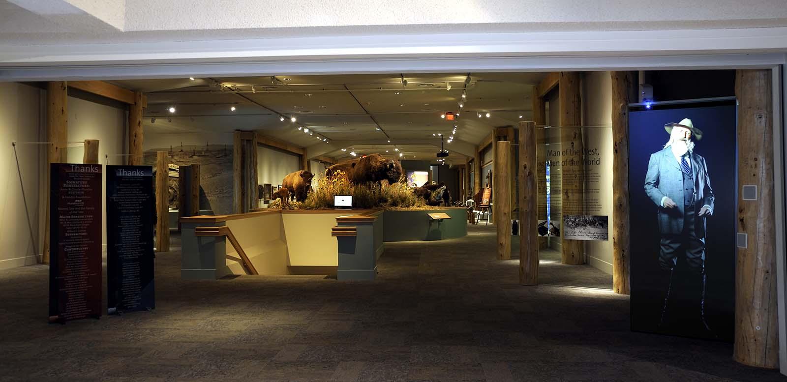 Buffalo Bill Museum entrance, 2012
