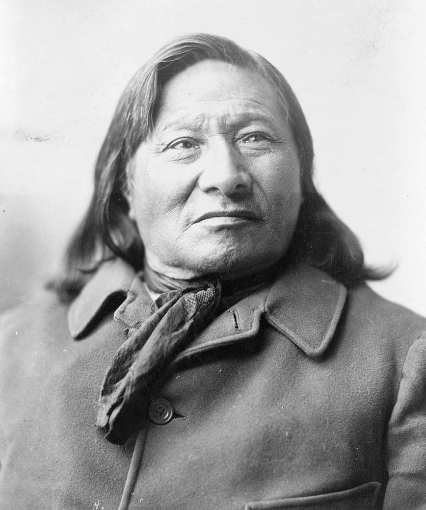 Sioux Rain-in-the-Face (ca. 1835-1905). Frank Bennett Fiske, photographer, ca. 1906. Library of Congress Prints and Photographs Division Washington, D.C. 20540 USA. LCUSZ62-107605