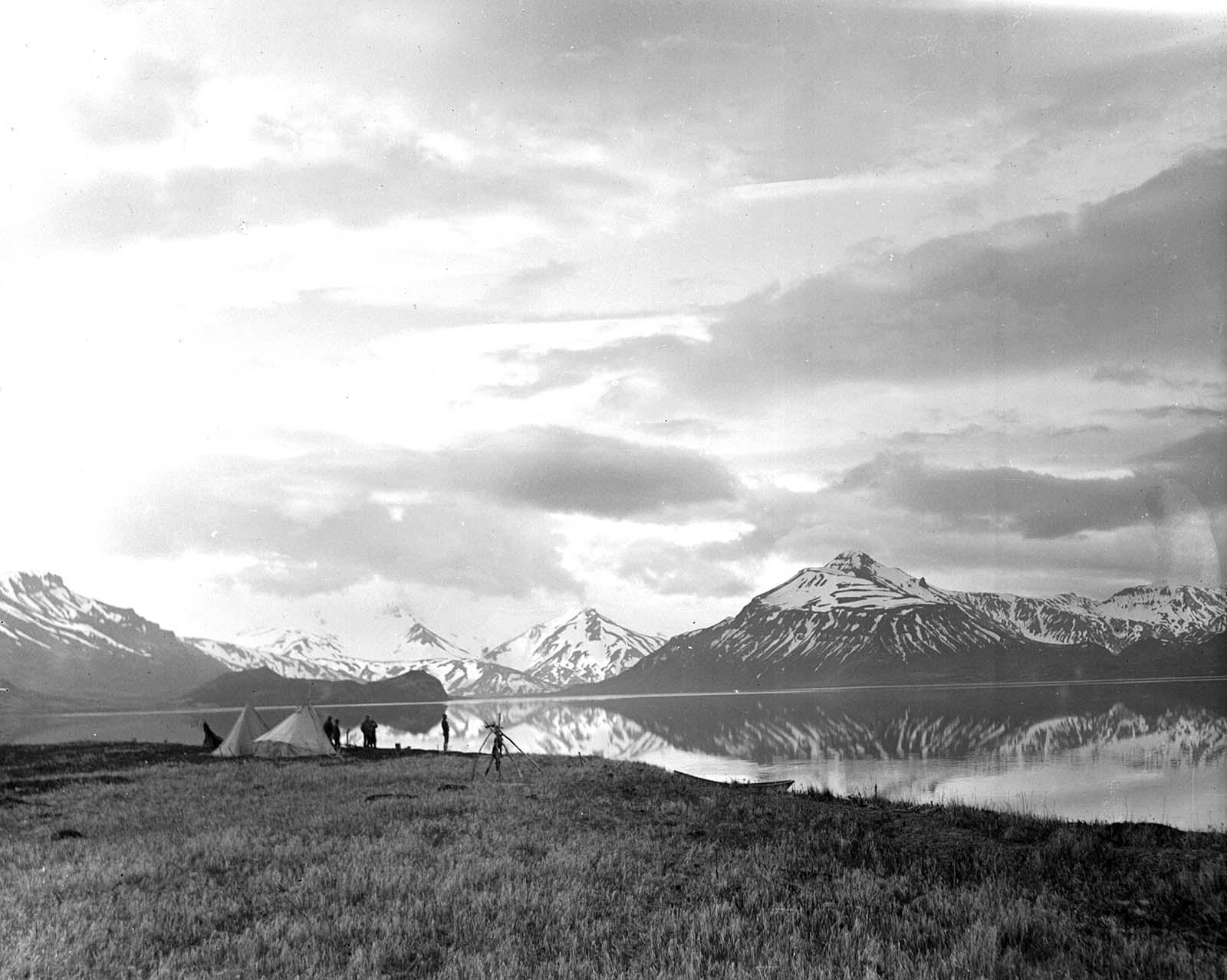 Fig. 15: Bear Lake Camp. MS 305 Harold McCracken Photograph Collection, McCracken Research Library. N115#01990V