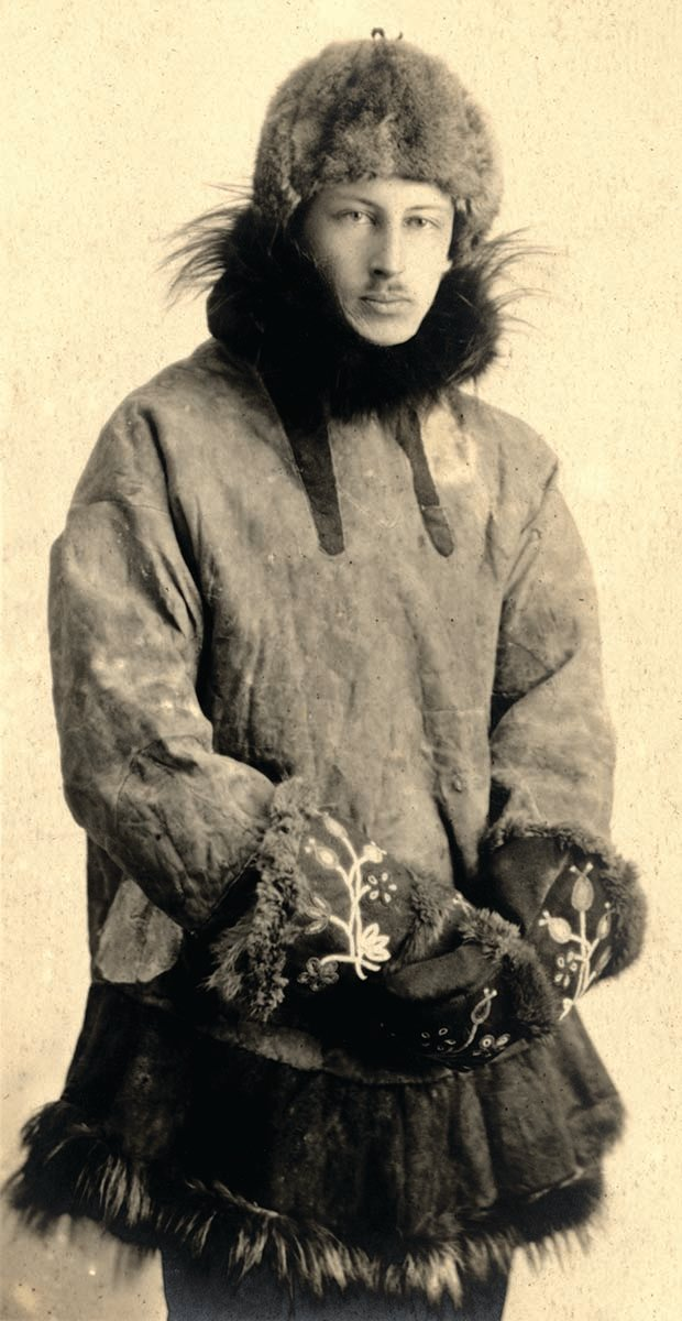 Fig. 2: Harold McCracken, ca. 1918. MS 305 Harold McCracken Photograph Collection, McCracken Research Library. MS 305.05.010