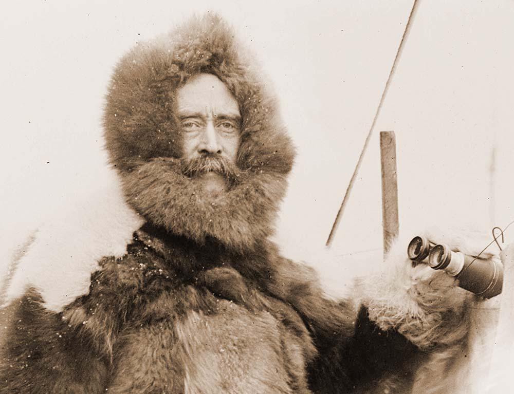 Fig. 3: Explorer Robert Peary, ca. 1909.