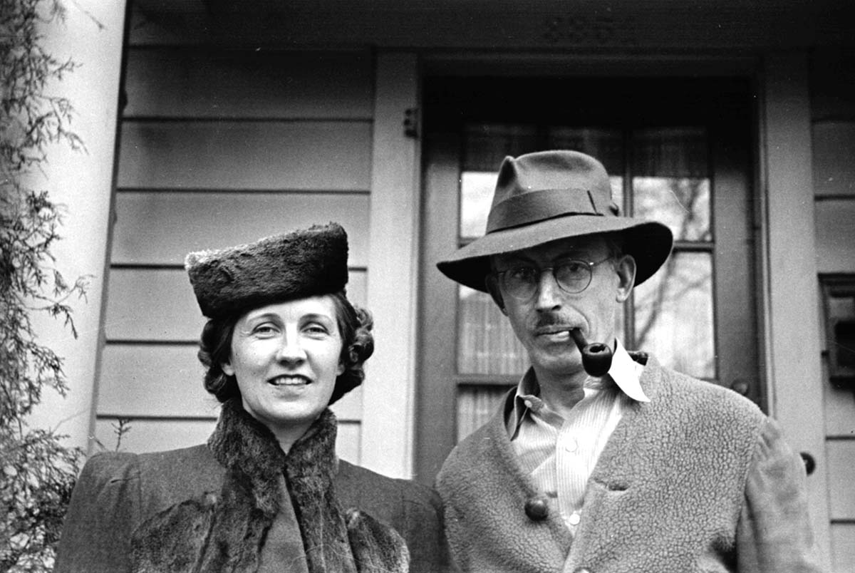 Harold McCracken with his wife, Angelyn. MS 305 Harold McCracken Photograph Collection, McCracken Research Library. N295#noneV