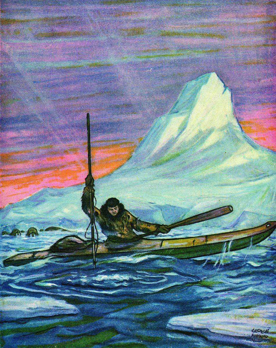 """McCracken's first Alaskan novel, """"Iglaome."""""""