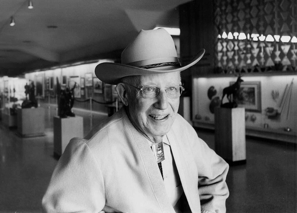Harold McCracken, the museum director.
