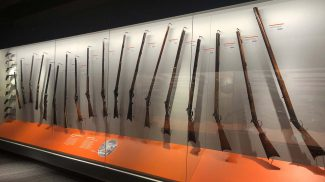 Firearms and the West gallery, Cody Firearms Museum.