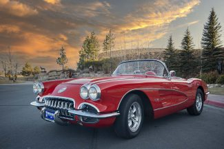 Corvette Convertible raffle car for 2021. Photo by Spencer Smith.