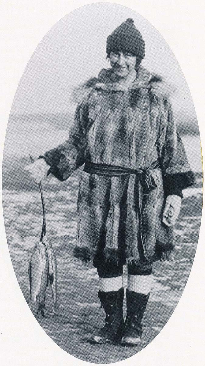 Mardy Murie as a youth in Alaska. Photo courtesy The Murie Center, Moose, Wyoming; The Murie Collection.
