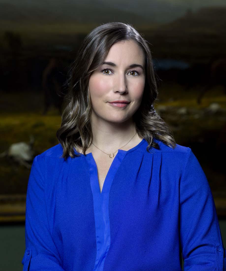 Whitney Western Art Museum Curator Karen Brooks McWhorter.