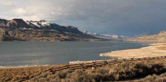 Buffalo Bill Reservoir waters. Photo by Mack Frost.