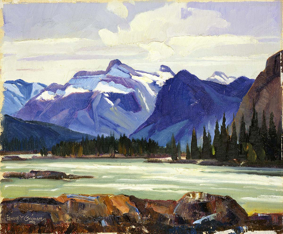 Edward T. Grigware (1889 - 1960). God's Country. Oil on canvas. Museum purchase, Mary Jester Allen Collection. 42.61