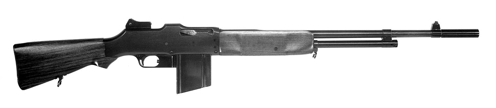 Winchester Model 1918 Browning Automatic Rifle (BAR). MS 20 Winchester Repeating Arms Company Archive, McCracken Research Library. P.20.2240