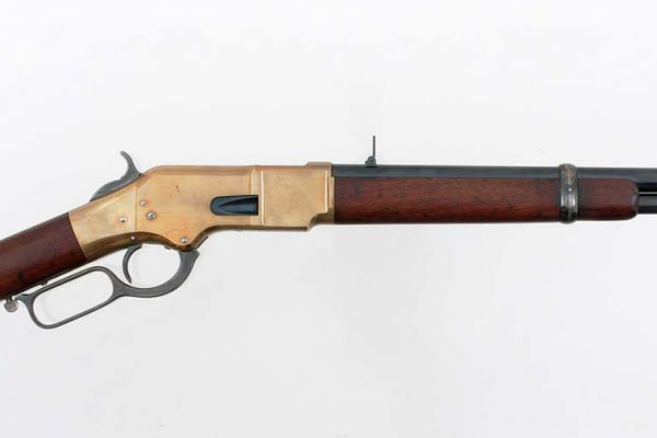 Winchester carbine, ca. 1868. Gift of Olin Corporation, Winchester Arms Collection. 1988.8.168