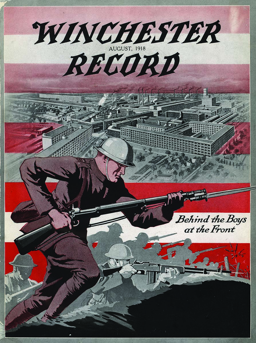 Winchester Record, August 1918. Gift of the Olin Corporation. Winchester Arms Collection. WR1918.V1.01.000