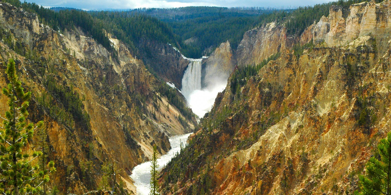 Upper Falls of Yellowstone