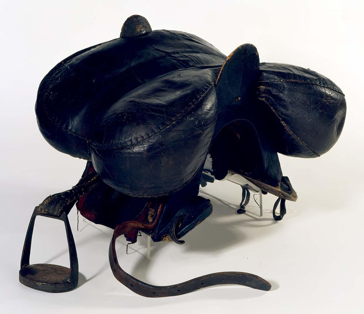 Cossack (Georgian) saddle, ca. 1900. 1.69.2410