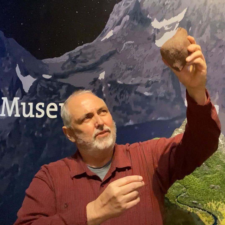 Educator George Miller brings geology alive.