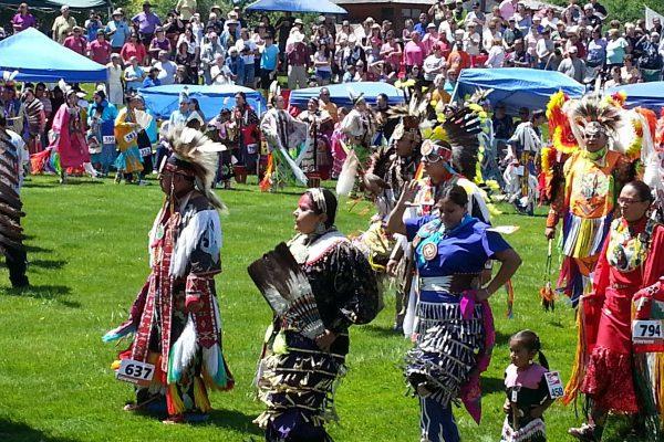 Joseph Medicine Crow Blessing the Powwow